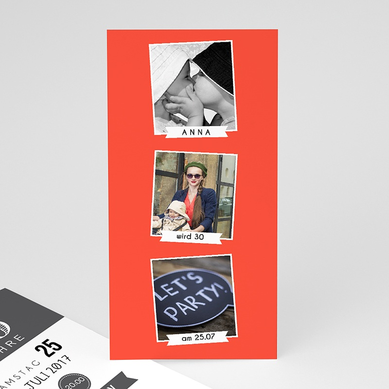 Erwachsener Einladungskarten Geburtstag Bildreich