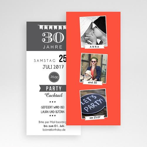 Erwachsener Einladungskarten Geburtstag Bildreich pas cher