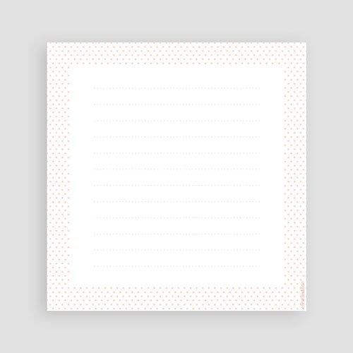 Dankeskarten Geburt Mädchen - Kreisförmig Mädchen 44650 test