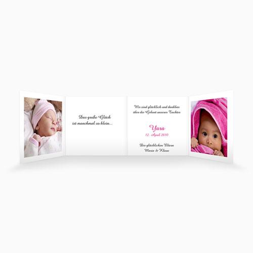 Geburtskarten für Mädchen - Mit Teddybär 4467 test
