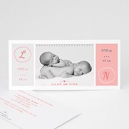 Karten Geburt Einfach schön