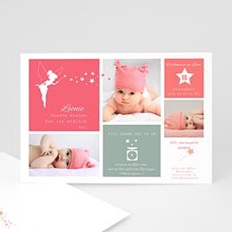 Geburtskarten für Mädchen - Kleine Fee