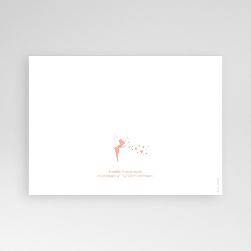 Geburtskarten für Mädchen Kleine Fee pas cher