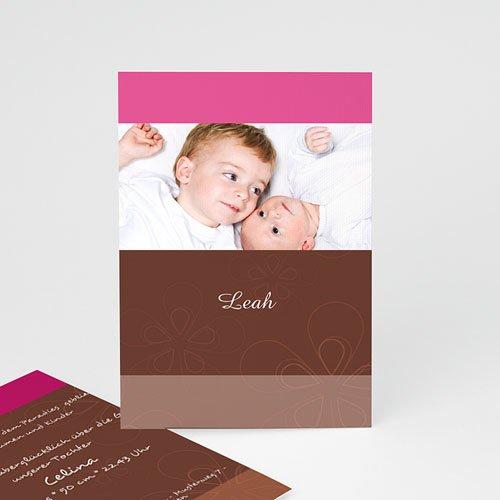 Geburtskarten für Mädchen - Schoko 4470