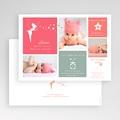 Geburtskarten für Mädchen - Kleine Fee 44700 thumb