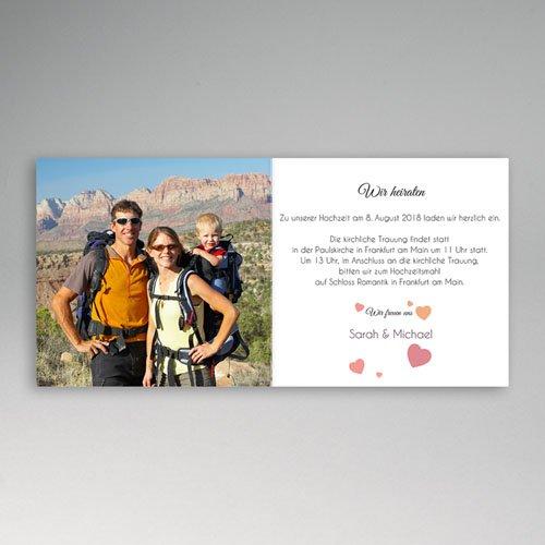 Hochzeitseinladungen modern - Hochzeit 44705 preview