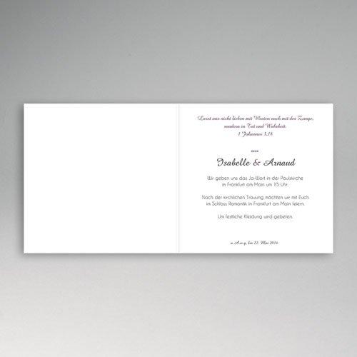 Hochzeitseinladungen modern - Tandem 44714 preview