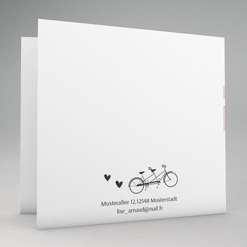 Hochzeitseinladungen modern - Tandem 44715 preview
