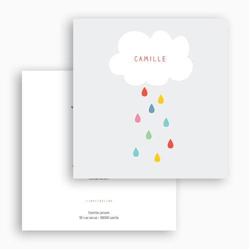 Einladungskarten Taufe Jungen  - Farbvoll 44733 preview