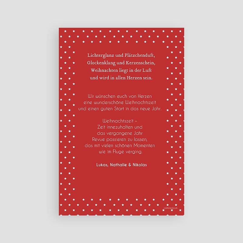 Weihnachtskarten Foto Weihnachtsbaum pas cher