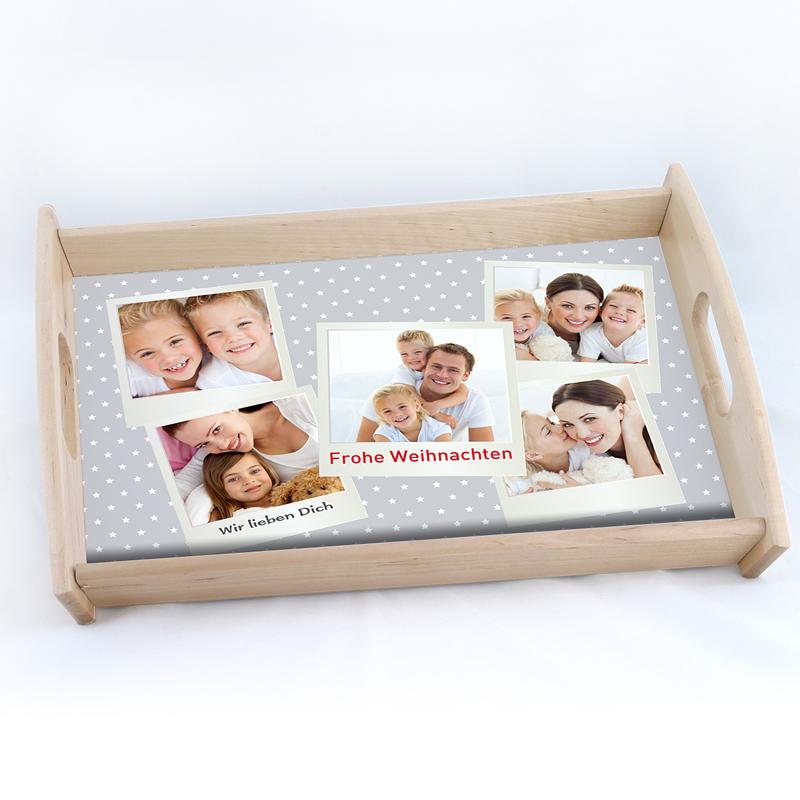 Personalisierte Foto-Tablett  Polaroid
