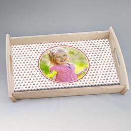 Tablett Geschenke Blumenwiese