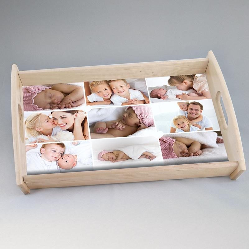 Personalisierte Foto-Tablett  Kleine Fotoserie