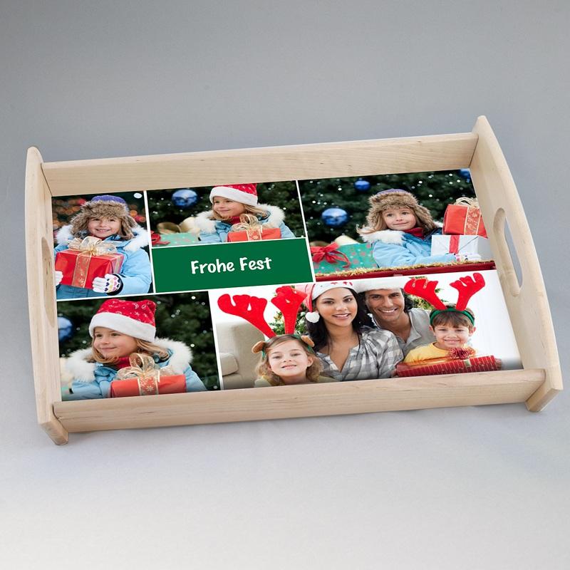 Personalisierte Foto-Tablett  Koriander