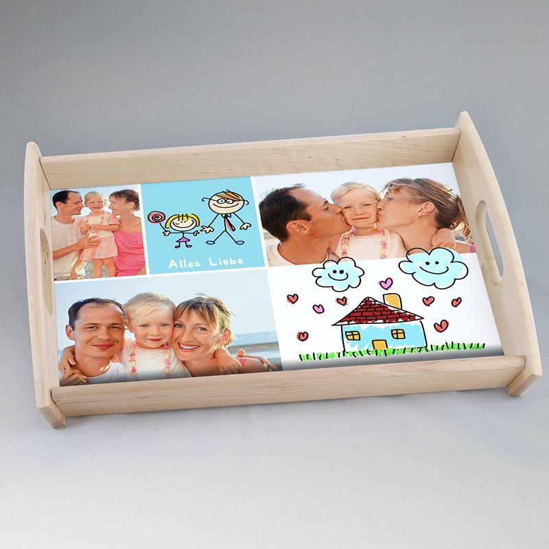 Personalisierte Foto-Tablett  Fotoserien