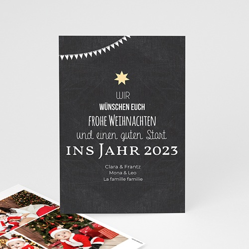 Weihnachtskarten TypoTree