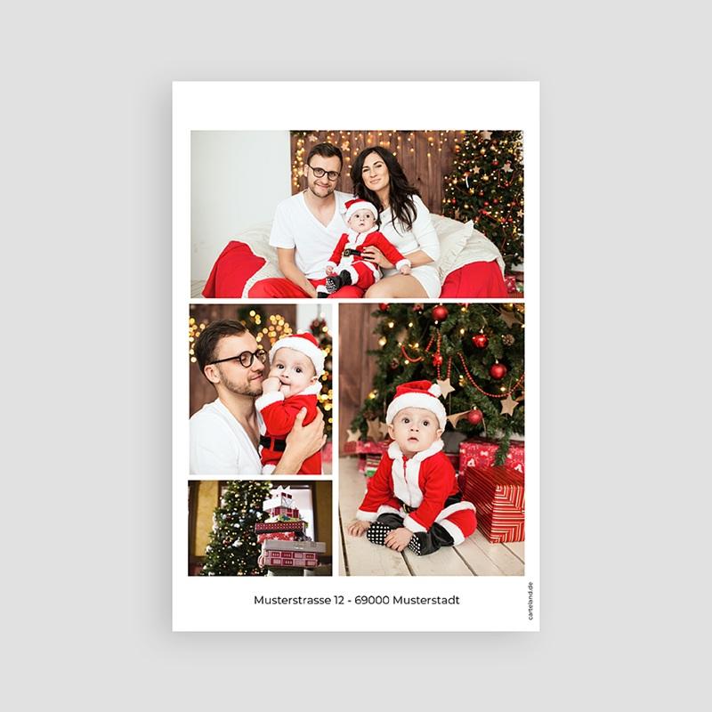 Weihnachtskarten TypoTree pas cher