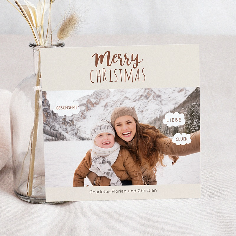 Weihnachtskarten - Happy New Year 44818 thumb