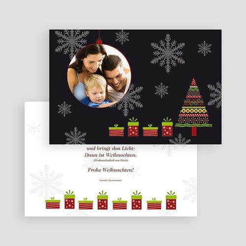 Weihnachtskarten - Weihnachtliches Flair 44917 test