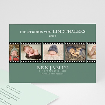 Babykarten für Jungen - Kino Filmstreifen - 0