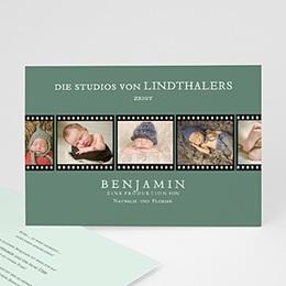 Geburtskarten für Jungen Kino Filmstreifen