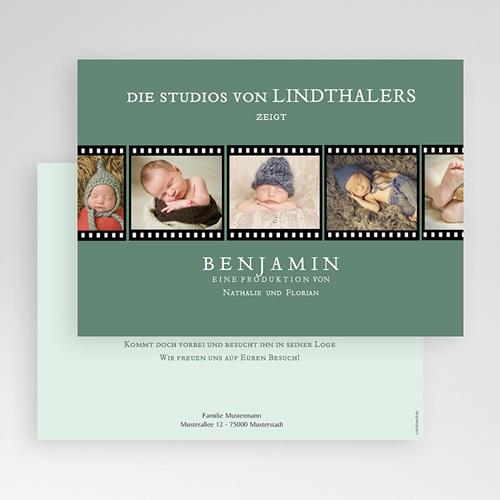 Babykarten für Jungen - Kino Filmstreifen 44929 preview