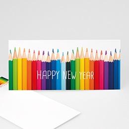 Voeux Pro Nouvel An Buntes Leben