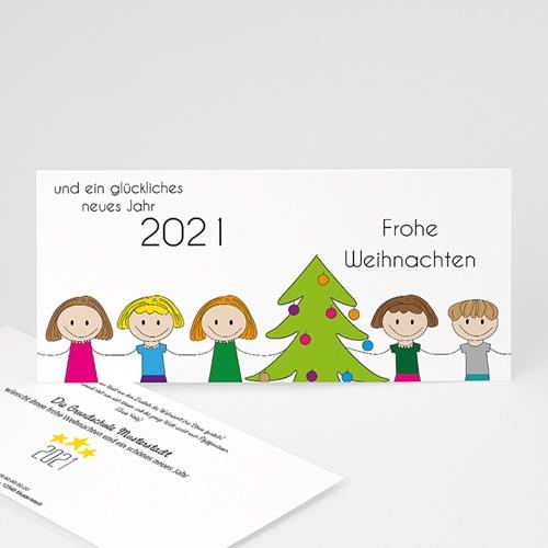 Weihnachtskarten - Glück 44965