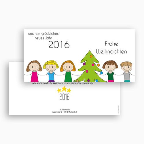 Weihnachtskarten - Glück 44967 preview