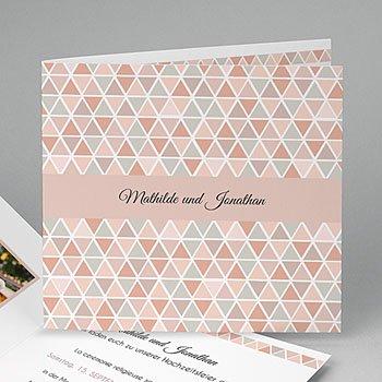 Klassische Hochzeitskarten  - Motif Nude - 0