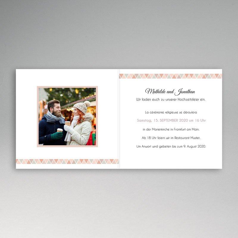 Klassische Hochzeitskarten  Motif Nude pas cher