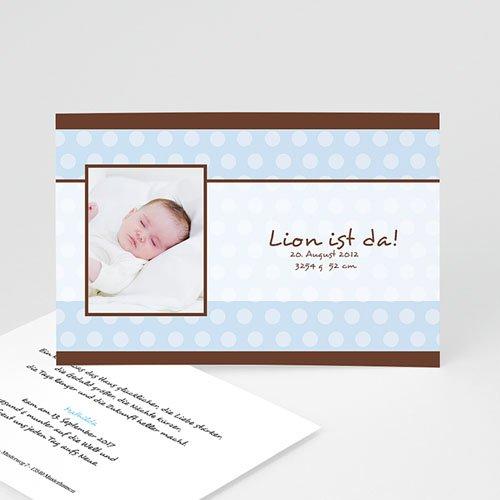 Babykarten für Jungen - Zartes Blau 4500