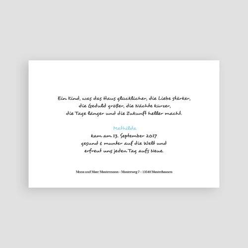 Babykarten für Jungen - Zartes Blau 4501 preview