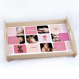 Tablett Geschenke Multifoto