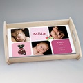 Personalisierte Foto-Tablett  Babysfotos