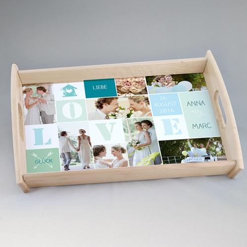 Foto-Tablett  - Hochzeit 45036