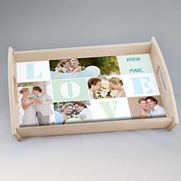 Tablett Geschenke Unsere Hochzeit
