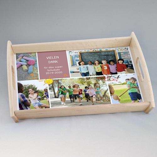 Personalisierte Foto-Tablett  Teacher