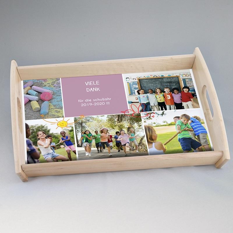 Personalisierte Foto-Tablett  Lehrer