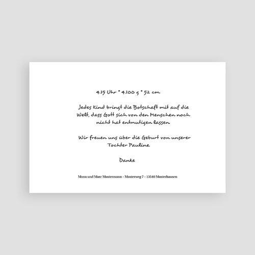 Geburtskarten für Mädchen - Nuria 4505 preview