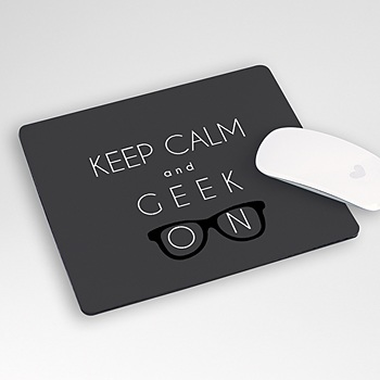 Foto-Mousepad - Geek - 0