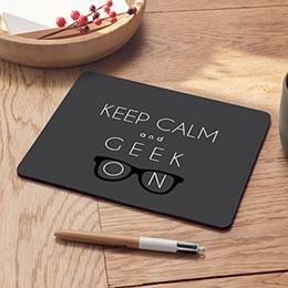 Mousepad Weihnachten Geek