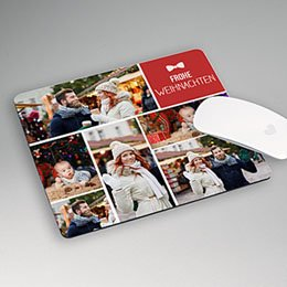 Mousepad Weihnachten Fotoroman