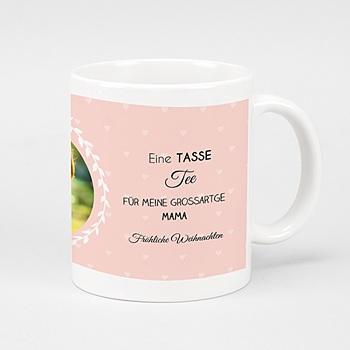 Fototassen Tea Time rosé