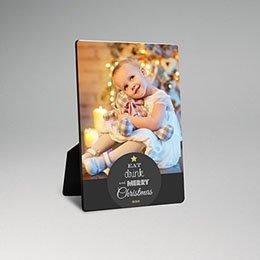 Fotorahmen Weihnachten Tannebaum in Worten