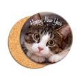 Personalisierte Foto-Untersetzer Kätzchen