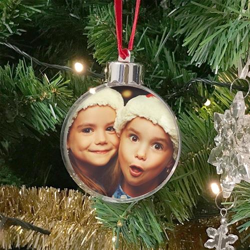 Personalisierte Weihnachtskugel Mein erstes Weihnachten