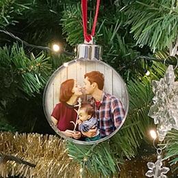 Weihnachtskugel - Meine Familie - 0