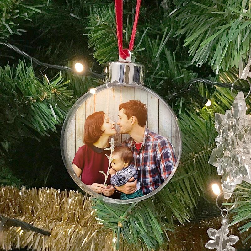 Personalisierte Weihnachtskugel Meine Familie