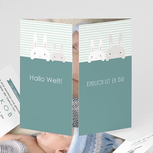 Geburtskarten für Mädchen - Hallo Hase 45182 test